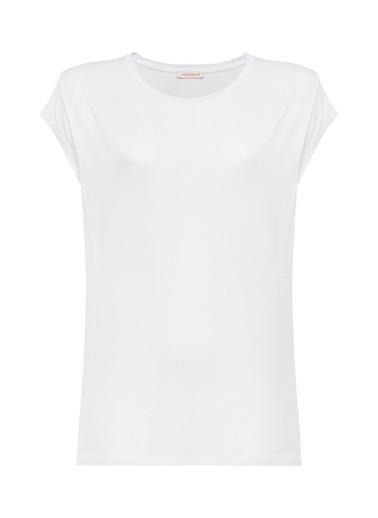 Vekem-Limited Edition Kolsuz Bluz Ekru